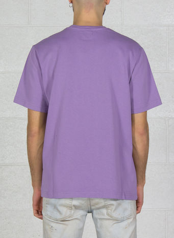 T-SHIRT ARCH CREW, PURPLE, small