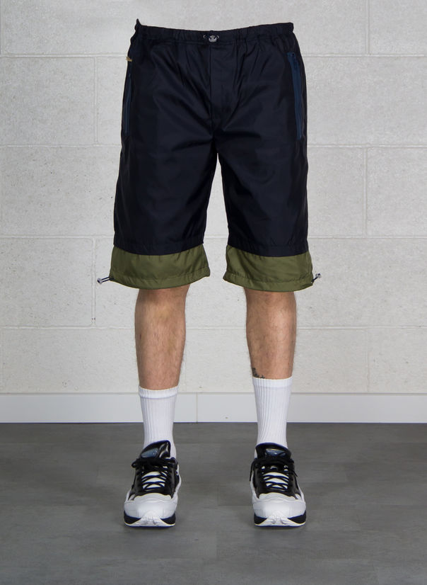 BERMUDA NYLON, NAVY/ARMYGREEN, large
