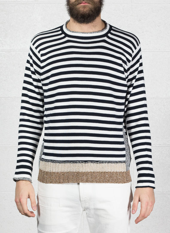 MAGLIONE, BLUEWHITE, medium