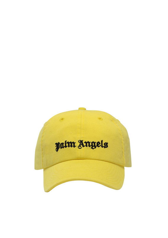CAPPELLO CLASSIC LOGO, YELLOW/BLACK, medium
