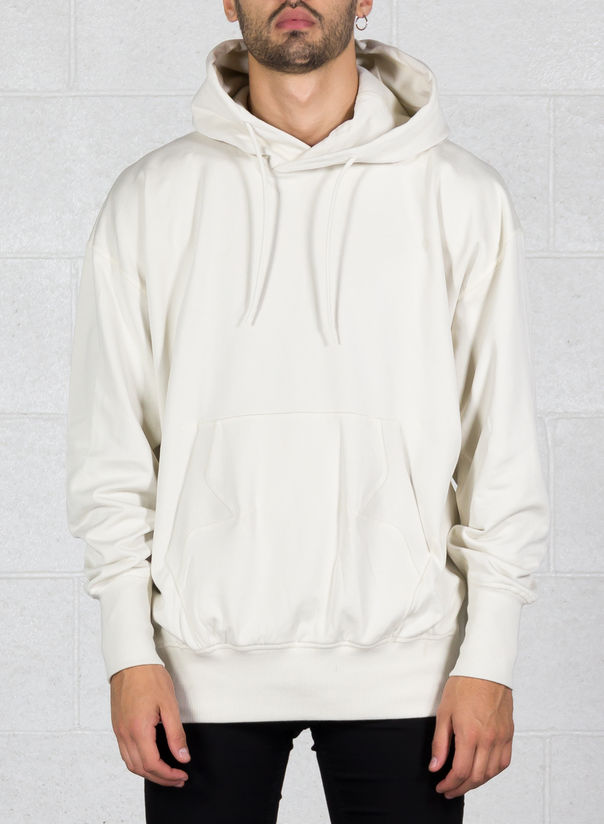 FELPA STACKED LOGO HOODIE, CHAMPAGNE, large