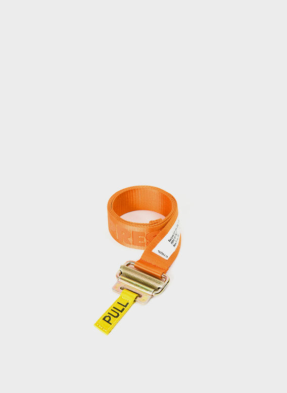 CINTURA HERON PRESTON BELT, ORANGE/ORANGE, medium