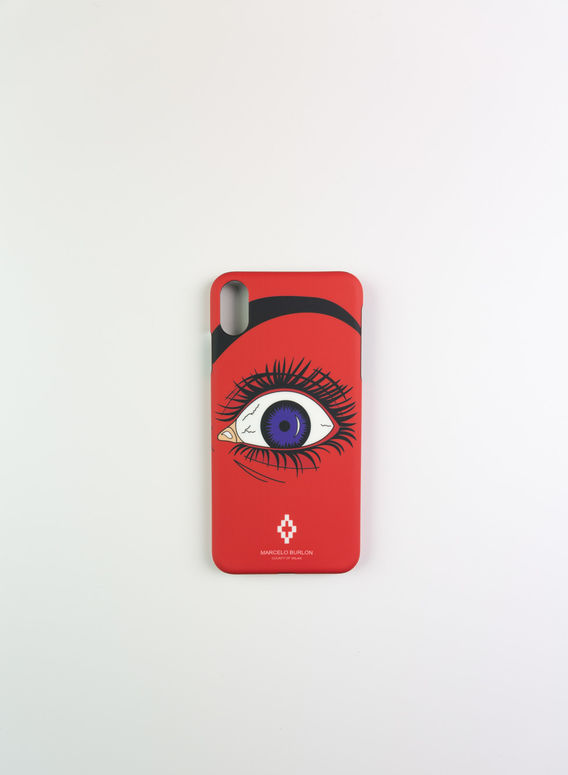 COVER RED EYE X CASE, RED/MULTI, medium