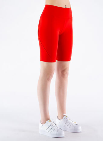 THIGHT SHORT CLASSIC, SCARLET, small
