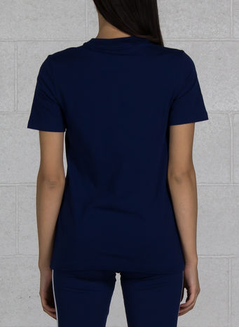 T-SHIRT TREFOIL, DARKBLUE, small
