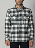 CAMICIA WOOL SHIRT JESUS, 089ASSAMPLE, thumb