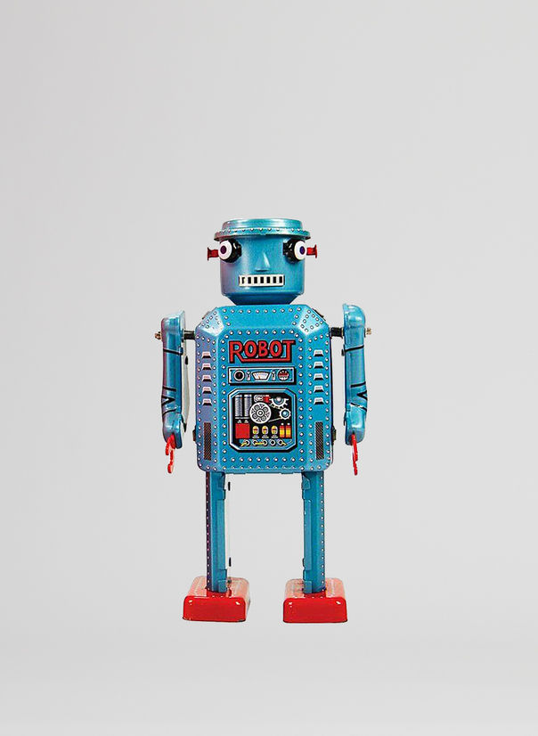 X ROBOT TINY TOY I17, R-35 ROBOT, large