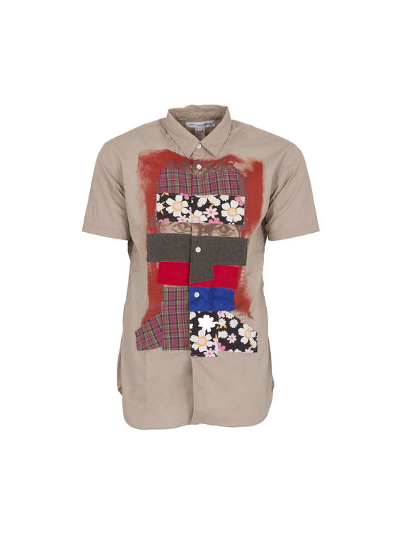 CAMICIA MC S/S 14, BEIGE, medium