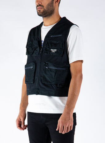 SMANICATO CL V FISHING VEST, BLACK, small