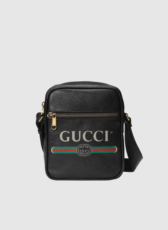BORSA MESSENGER GUCCI PRINT, 8163, medium