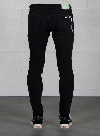 JEANS SKINNY REGULAR LENGHT, BLACK, small