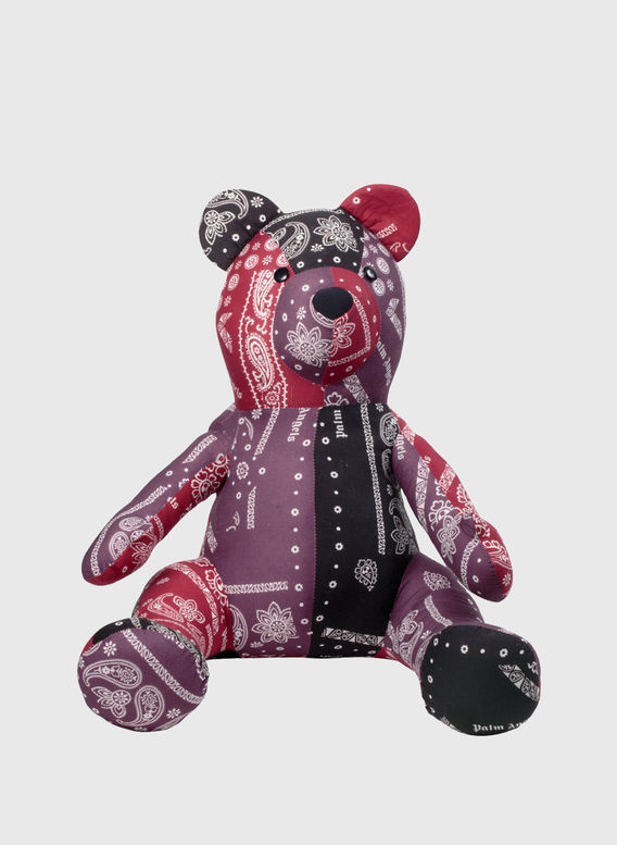 BEAR PUPPET, MULTICOLOR, medium