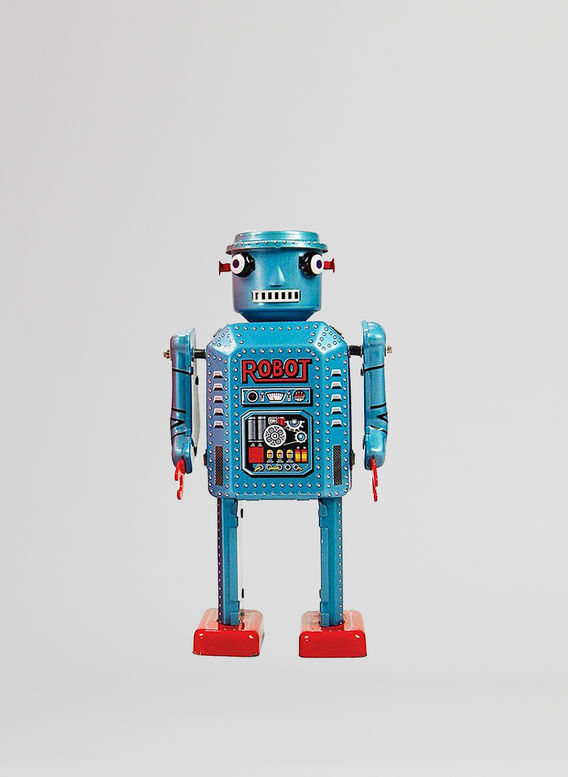 X ROBOT TINY TOY I17, R-35 ROBOT, medium