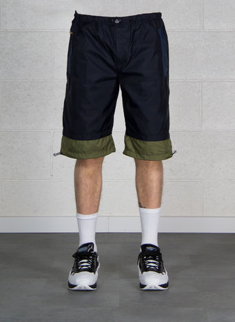 BERMUDA NYLON, NAVY/ARMYGREEN, small