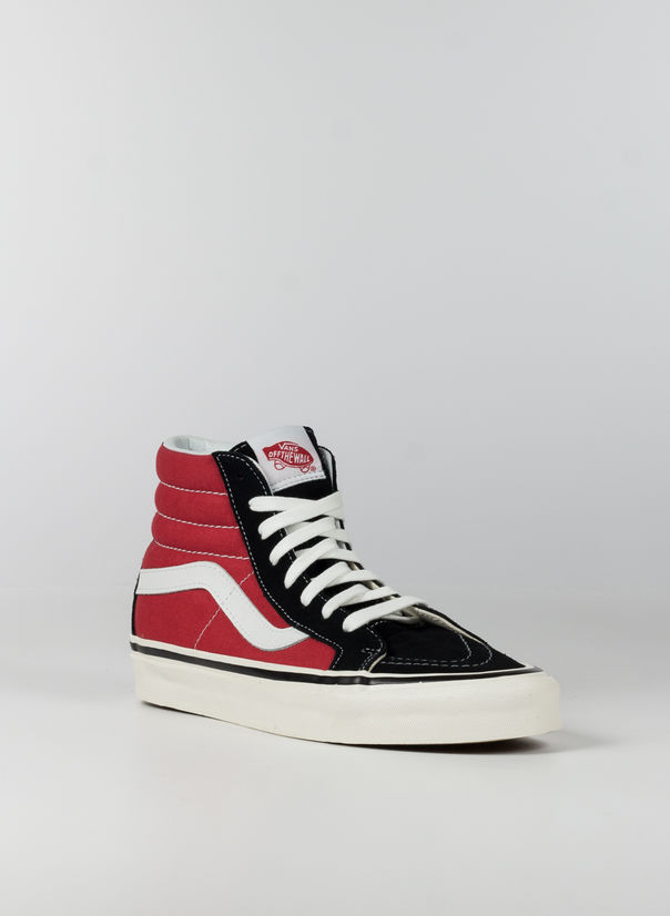 SCARPA ANAHEIM FACTORY SK8-HI 38, BLACKRED, large