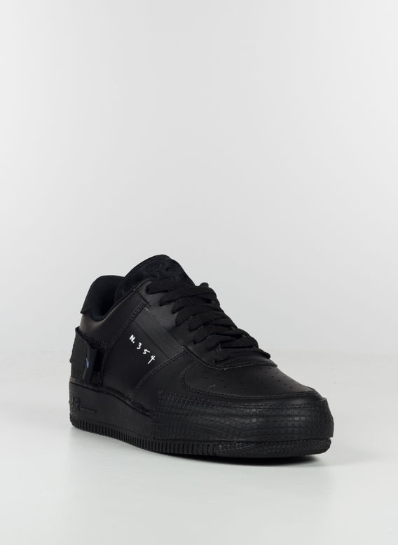 SCARPA AIR FORCE 1 TYPE, BLACK/PHOTO-BLUE, medium
