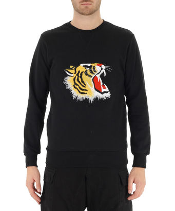M FELPA TIGER I16, BLACK, small