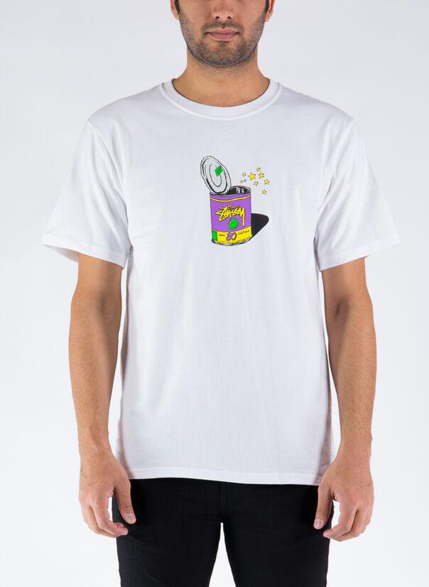 T-SHIRT POP TOP TEE, WHITE, large
