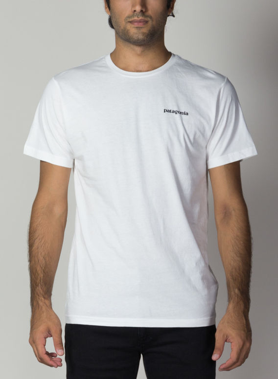 T-SHIRT P-6 LOGO ORGANIC T-S, WHI, medium