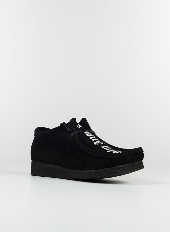 SCARPA WALLABEE SUEDE, 1001BLACK/WHITE, medium