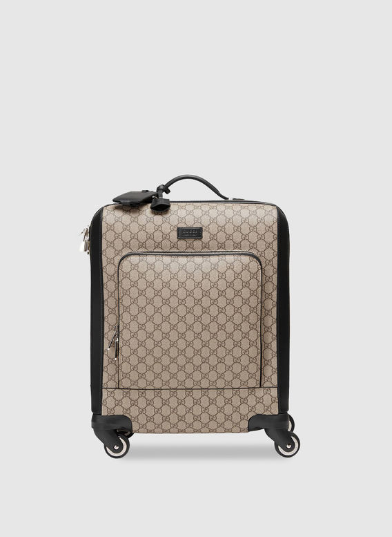 M BORSA TROLLEY E18, 9769 BEIGEEBONY, medium