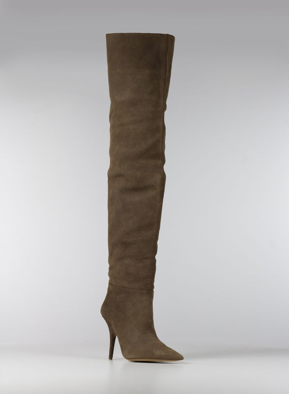 SCARPA TUBULAR THIGH HIGH BOOT 110MM, OAK, medium