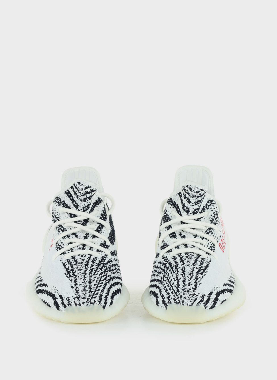 SCARPA YEEZY BOOST 350 V2, WHITE/CBLACK/RED, small