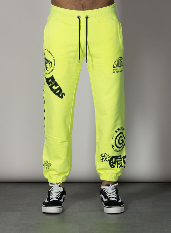 PANTALONE ELEMENTS SWEATPANTS, YELLOWFLUO, medium
