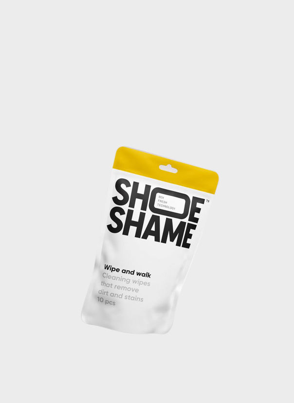 SHOESHAME WIPE AND WALK, WHITE, large