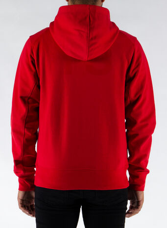 FELPA BACK LOGO, SCARLET, small