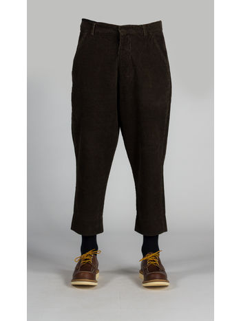 M PANTALONE I17, BROWN, small