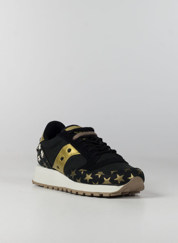 SCARPA JAZZ TRIPLE EMBOSSED STARS, BLACKGOLD, medium