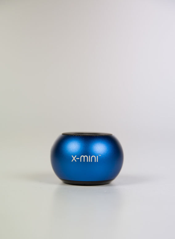 SPEAKER BLUETOOTH X MINI CLICK, BLUE, medium