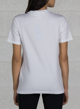 T-SHIRT ORIGINALS TRIFOGLIO, WHITE, small