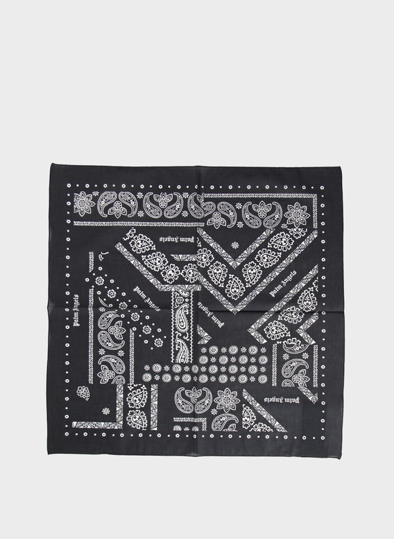 BANDANA BROKEN DOWN, BLACK/WHITE, medium
