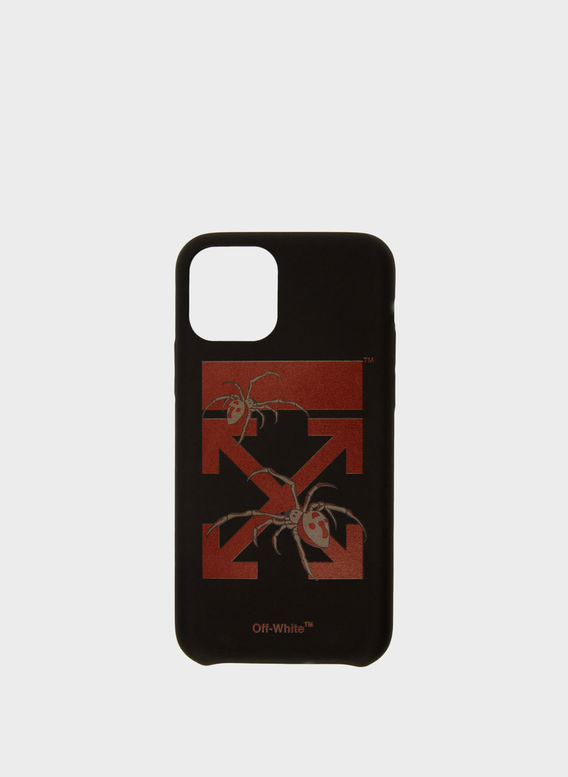 COVER ARACHNO ARROW IPHONE XS, BLACK/BORDEAUX, medium