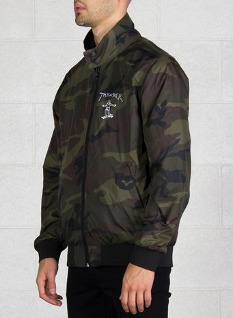 GIUBBOTTO GONZ REVERSIBLE, BLACK/CAMO, small