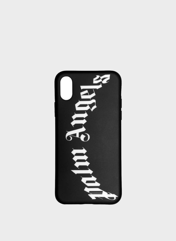 COVER LOGO IPHONE X CASE, BLACK/WHITE, medium