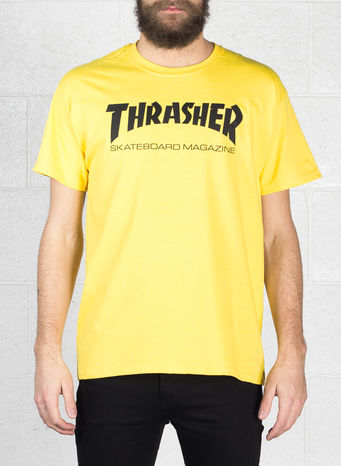 T-SHIRT SKATE MAG, YELLOW, small