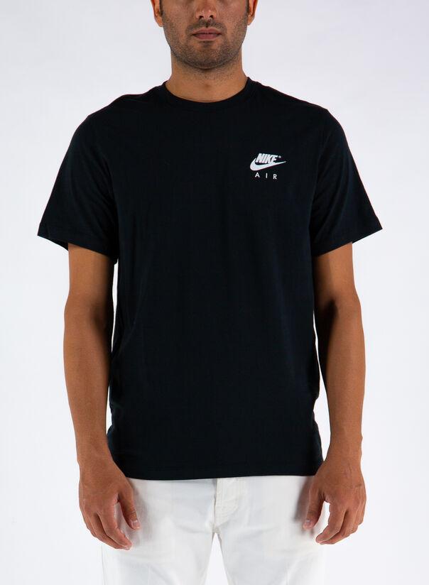 T-SHIRT SPORTSWEAR, BLACK, large