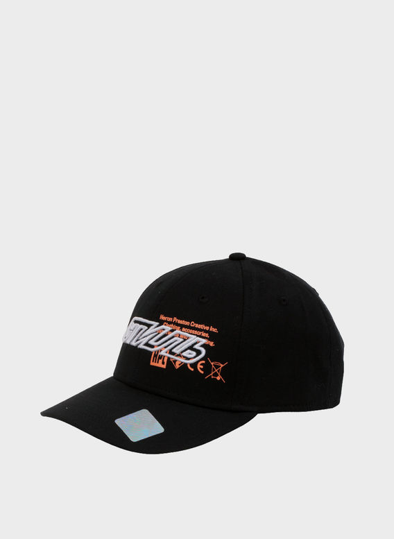 CAPPELLO BASEBALL CAP CTNMB + STAMPA, BLACK/MULTI, medium