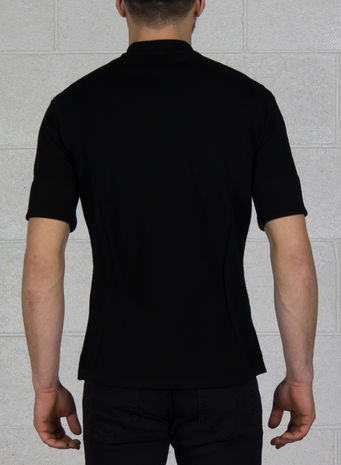 T-SHIRT PRIMEKNIT TEE, BLACK, small