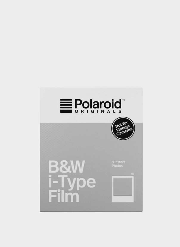 POLORAID B&W I-TYPE FILM, WHITEFRAME, large