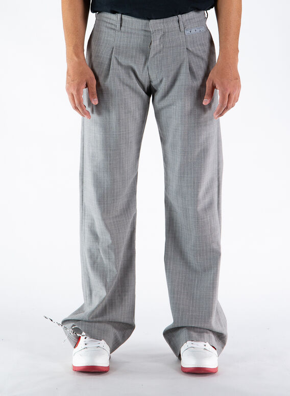 PANTALONE LOW CUT FORMAL PANT, 0600LIGHTGREY, medium