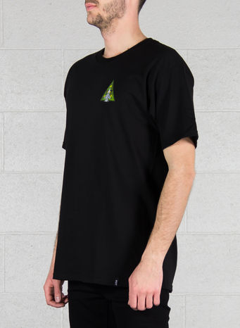 T-SHIRT DISASTER OPS TRIPLE TRIANGLE TEE, BLACK, small