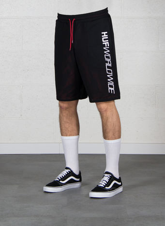 BERMUDA PLANTLIFE REVERSIBLE MESH SHORT, BLACK, small