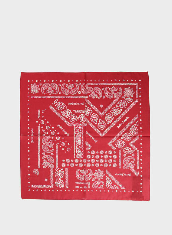 BANDANA BROKEN DOWN, RED, medium