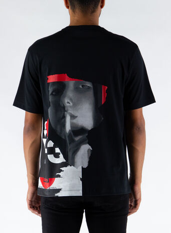 T-SHIRT CH1 GFX TEE, BLACK, small
