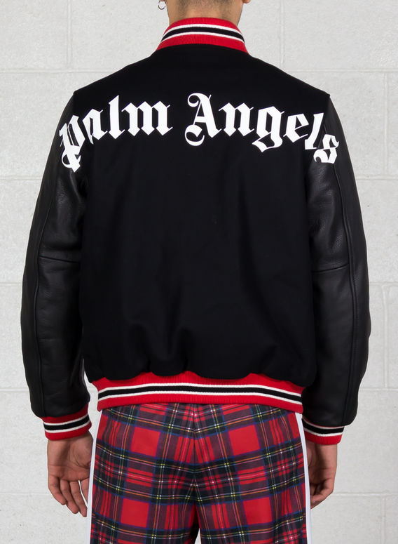 GIUBBOTTO AUTHENTIC VARSITY JKT, BLACK/RED, medium