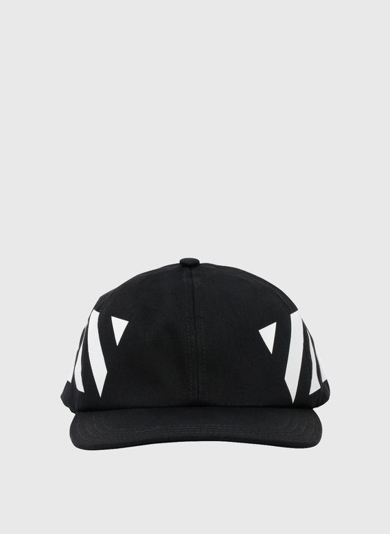 CAPPELLO DIAG, BLACK/WHITE, medium
